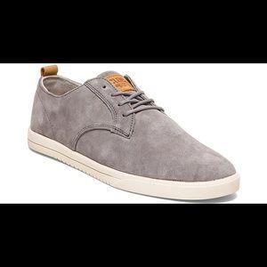 New Clae Ellington gray tennis shoes
